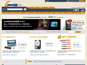 Newegg and Amazon Promo and Coupon Codes
